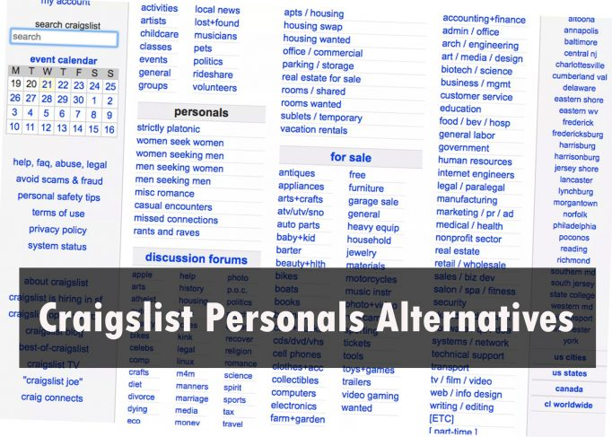 27 Craigslist Personals Alternatives Ranked, #1 is the ...